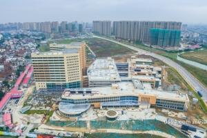 5年一座新城!航拍新涵江医院、溪游片区