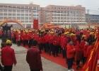 泉州市5000多名信众来鲤南圣泉宫谒祖进香