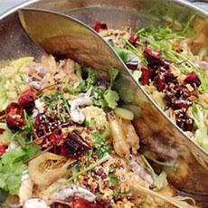 海鲜脆鱼锅