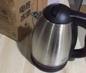 全新电热水壶304不锈钢食品级2L 25.00