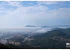 许多人在这山上见到的奇观,早上我也拍到了