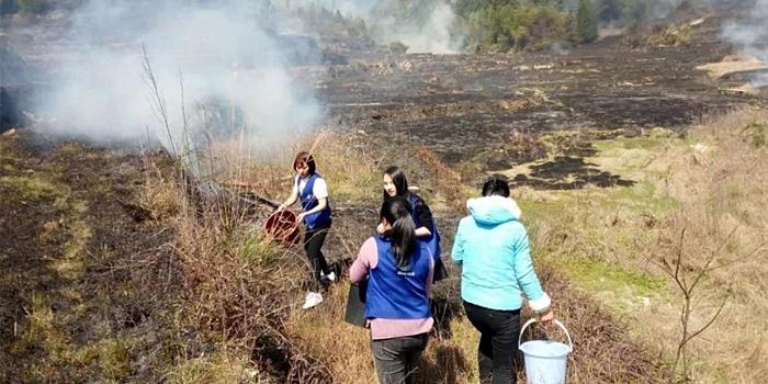仙游初中生充电宝爆炸 约100亩山林地大火
