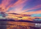 湄洲岛的晚霞,太美了!视频