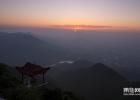 九华山云海日出--啊智摄影