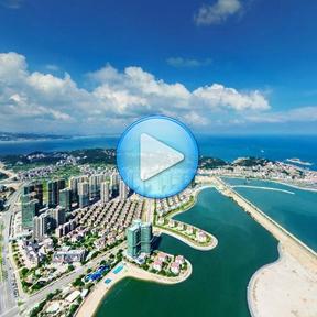 东方迪拜 航拍看妈祖城