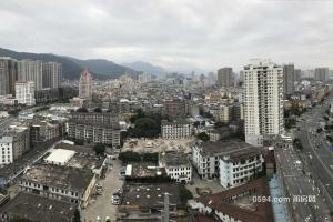 莆田城变:航拍月塘南 莆田中心改造正当时