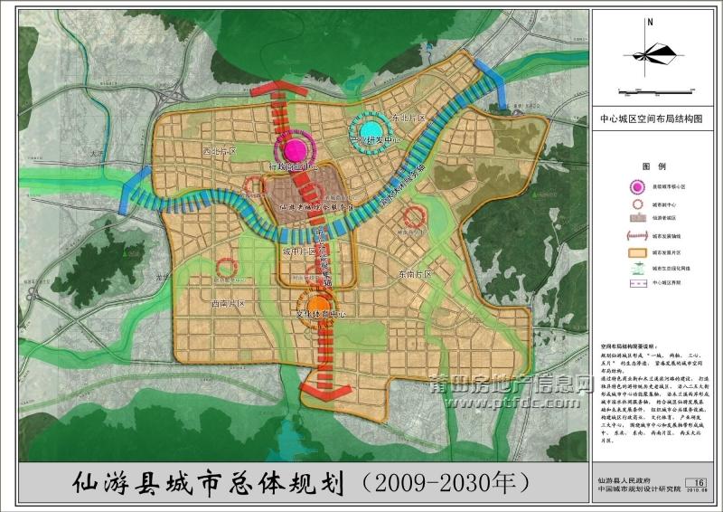 仙游未来城市规划图
