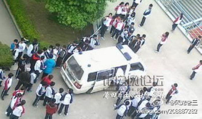 【爆炸新闻】仙游县金石中学学生跳楼事件