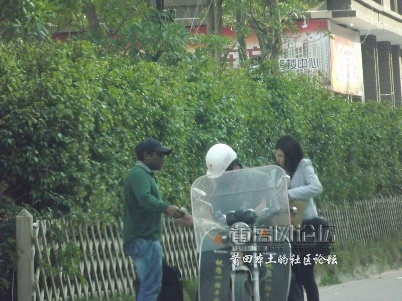 图:非洲黑人光天化日在旷远酒店泡莆田美女 本
