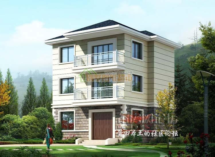 平米房屋设计图