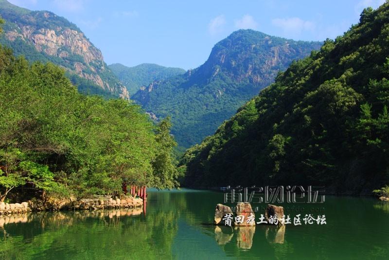 莆田最美湖光山色-九龙谷风景区