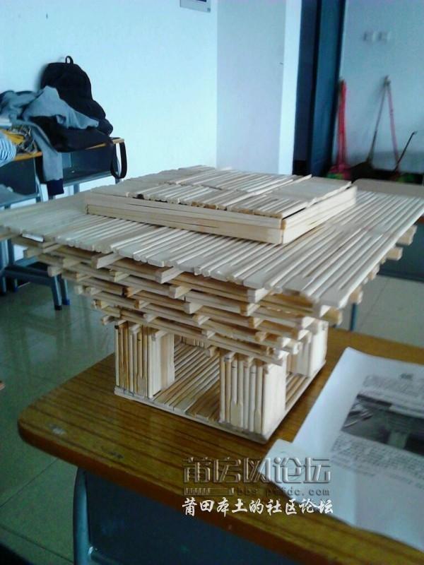 莆田学院建筑大赛作品果然创意非凡