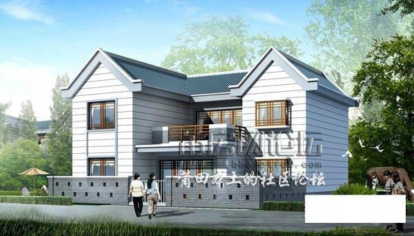 农村盖房设计大全!三十万以内的别墅