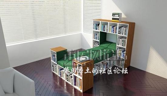 让空间利用更紧凑 22款节省空间家具设计