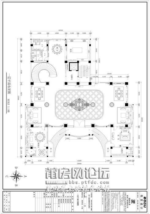 [案例] 星级酒店设计标准奢华豪宅:莆田忠门1200平米别墅(附实拍图)图片