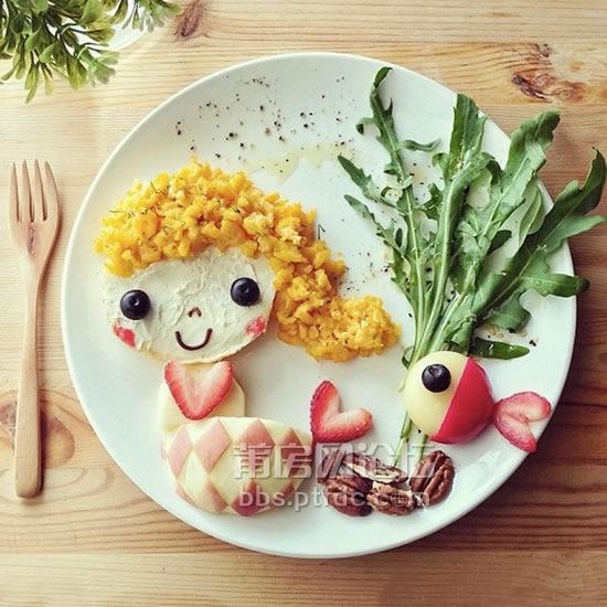 儿童创意米饭图片