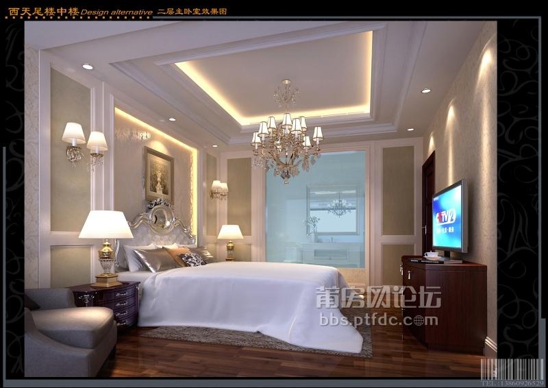 西天尾楼中楼二层主卧室效果图.jpg