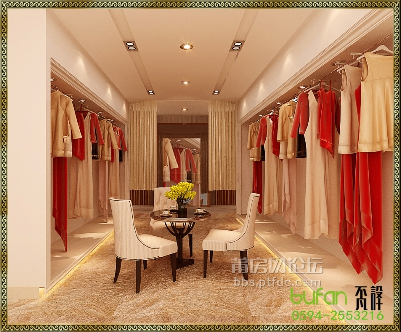 18天的升级--婚纱店装修--《不凡设计》