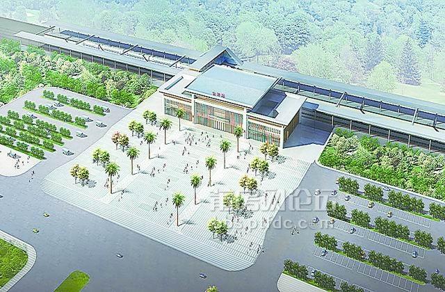 仙游火车站效果图,春节主体完工