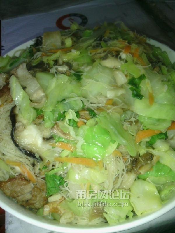 【老爸后厨】-----炒米粉 海蛏汤