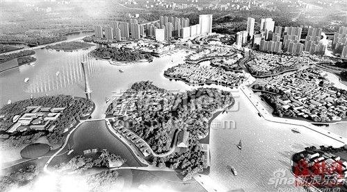 """涵江白塘湖片区传说""""月亮湖""""五星级酒店规划"""