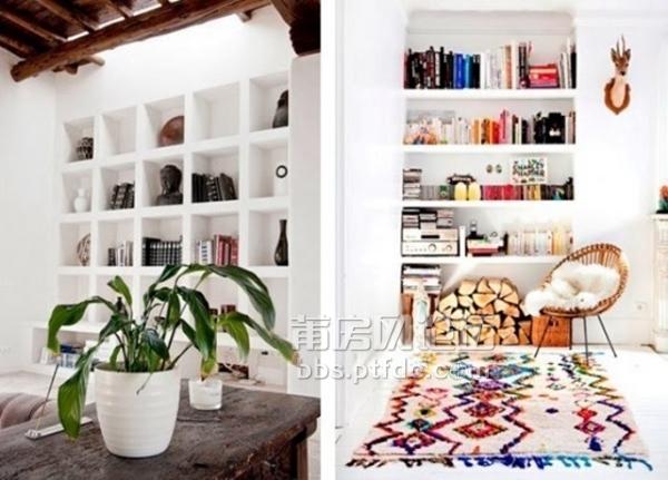 背景墙一般在家居中是作为装饰造型,然而今天给你说到的就是另一种既实用又可作为装饰的背景墙。书柜作为知性人群不可缺少的一件家具,而在选择将怎样的书柜搬回家时就要考虑到现在以及以后的藏书量,尽量在空间允许的范围内选购一款足够大的书柜,既能收纳很多书籍,又是一面别致的背景墙。