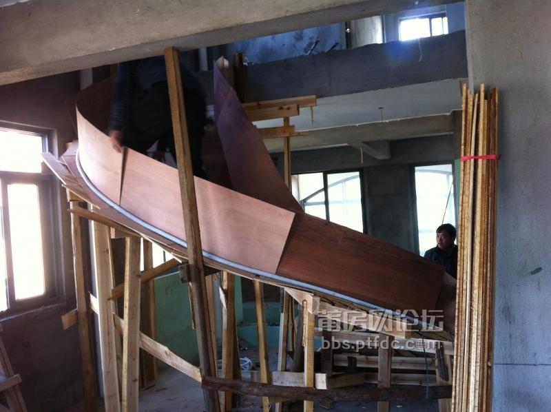 3月11号,大气旋转楼梯模板形成,后面微调了一下,更圆更弧更标准