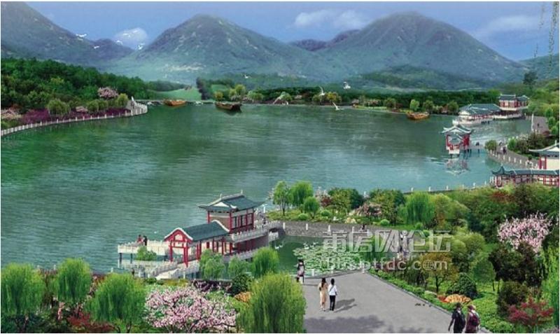 九鲤湖风景区位于钟山镇,距县城 31 公里,海拔 590 米.