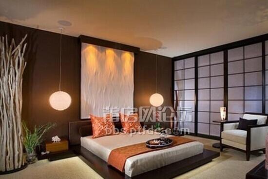 日式卧室图片欣赏