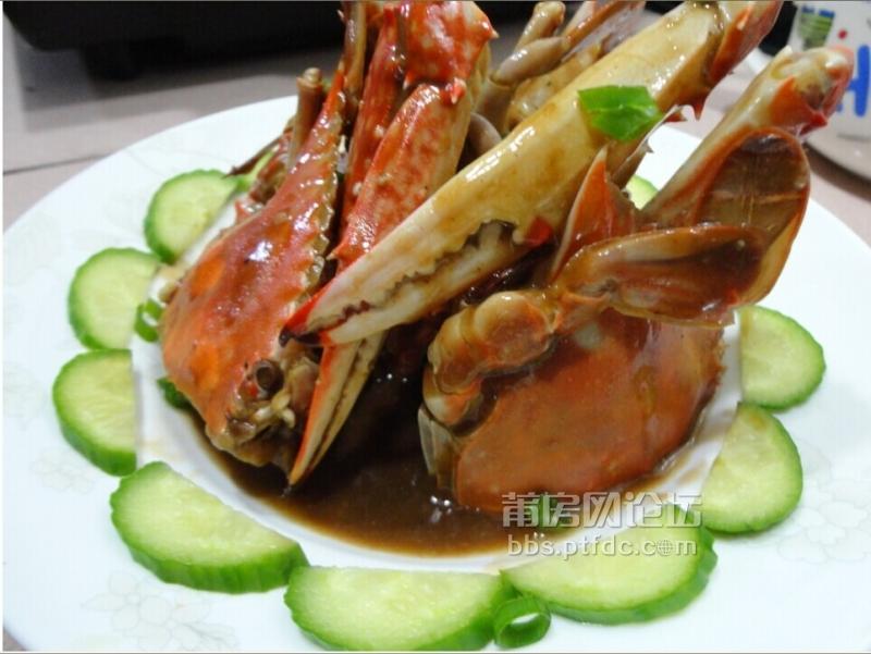 巨型淡水虾 油煎蟹等等等