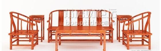 连天红:六件套红木家具只要6900元