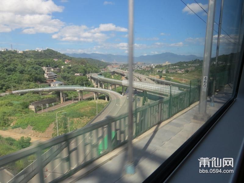 高铁沿途风景:1,莆田火车站——绩溪北站