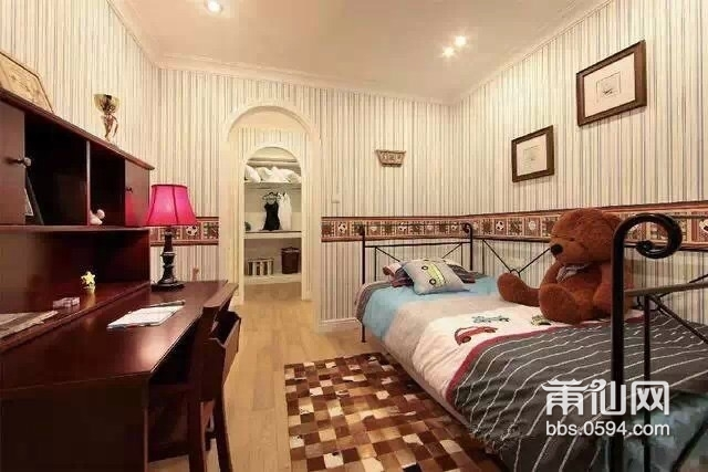 90平米房子精设计成视觉120平米的美式田园风格家居!