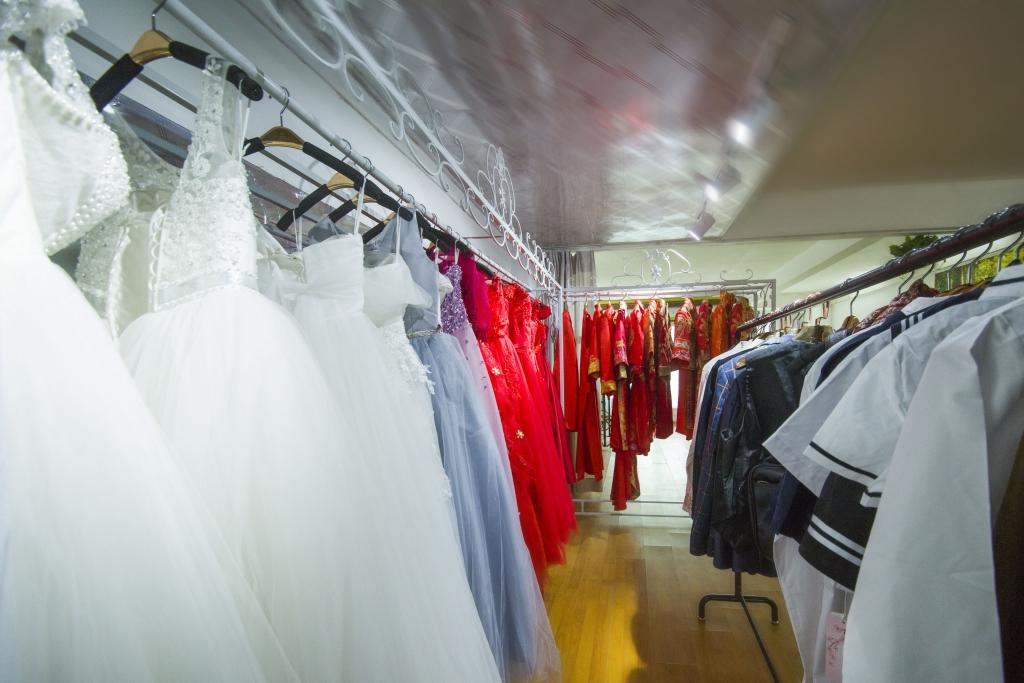婚纱,器材,桌椅