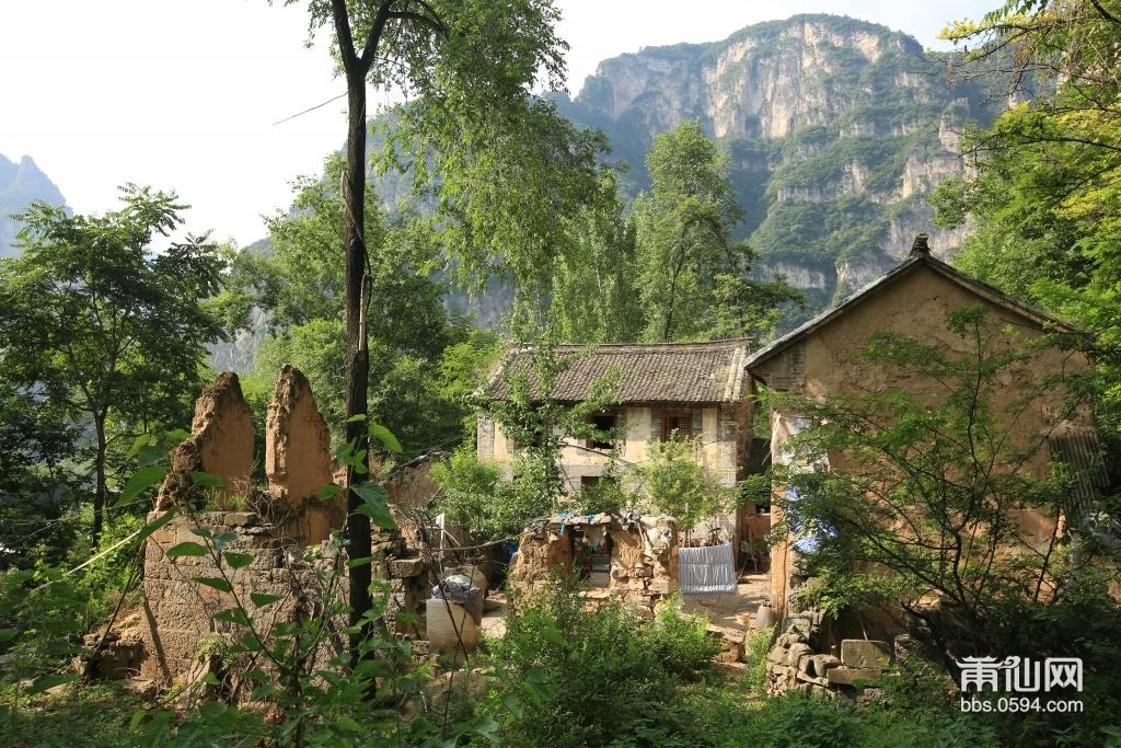 杨树林里废弃的房屋——这里是秦家磨,秦家磨村原来是一个明清时代的村庄,当年的主人是一户姓秦的人家,依 ...