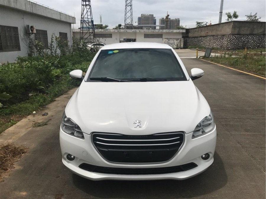 标致301 白色2016款 1.6L 自动舒适版