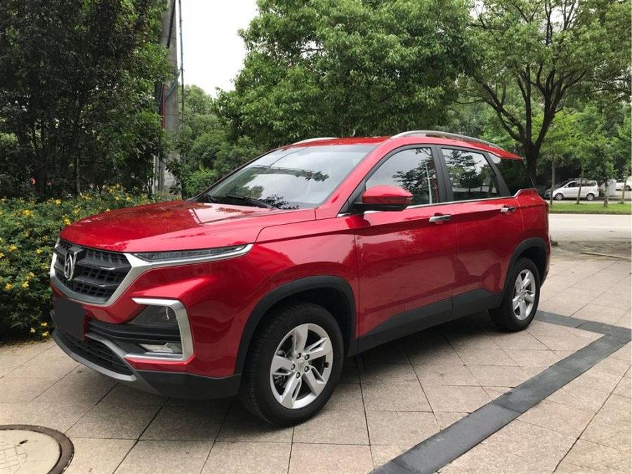 宝骏530红色 2018款 1.8L 自动豪华型