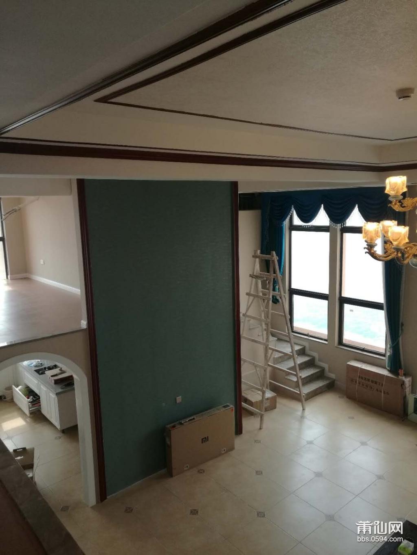 背景墙安装过程