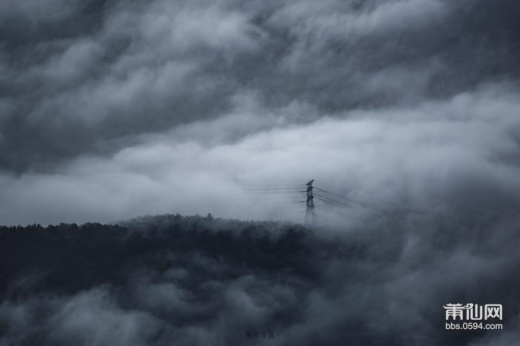 拍摄于九华山