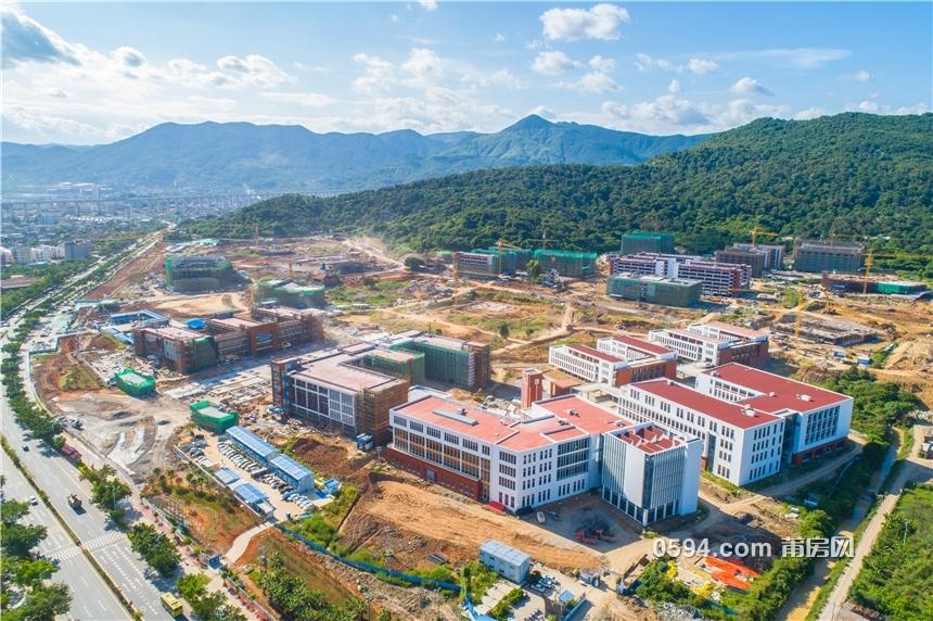 抢先看:涵江大学城全面落架中 秋季要开学