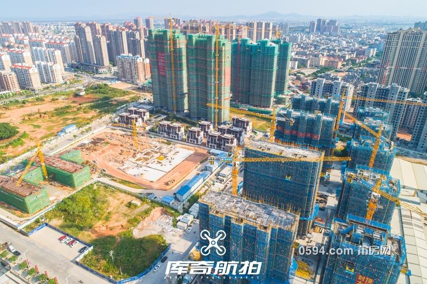 涵江塘北(保联融)片区城熟 一年间起高楼