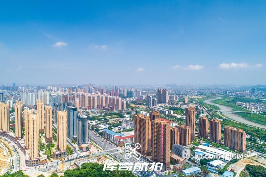 航拍:万博博彩官网西大节奏上演 华侨城是否加戏?