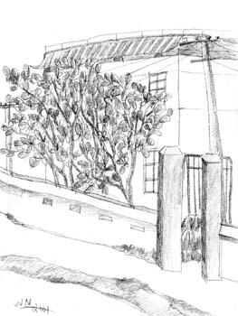广州名胜手绘作品
