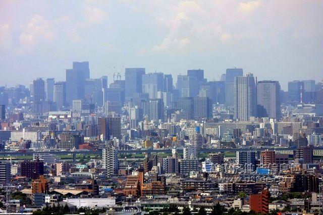 超震憾:日本东京城市全景图