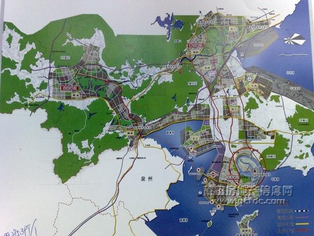 平海湾滨海新城规划图