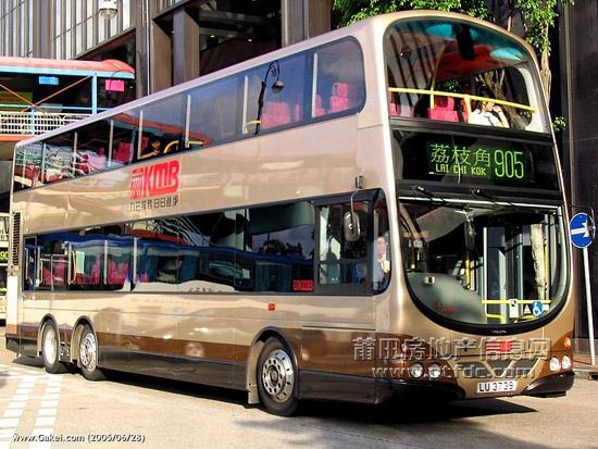 香港双层观光公交车图赏!