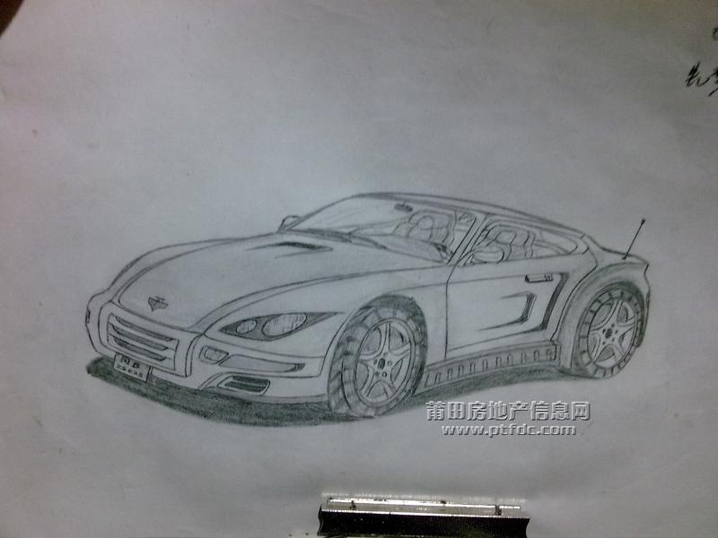 汤姆的手绘图!